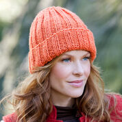 Go to Product: Red Heart Easy-Fit Ribbed Hat in color