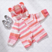 Go to Product: Red Heart Baby Bear Crochet Hoodie, 6 mos in color