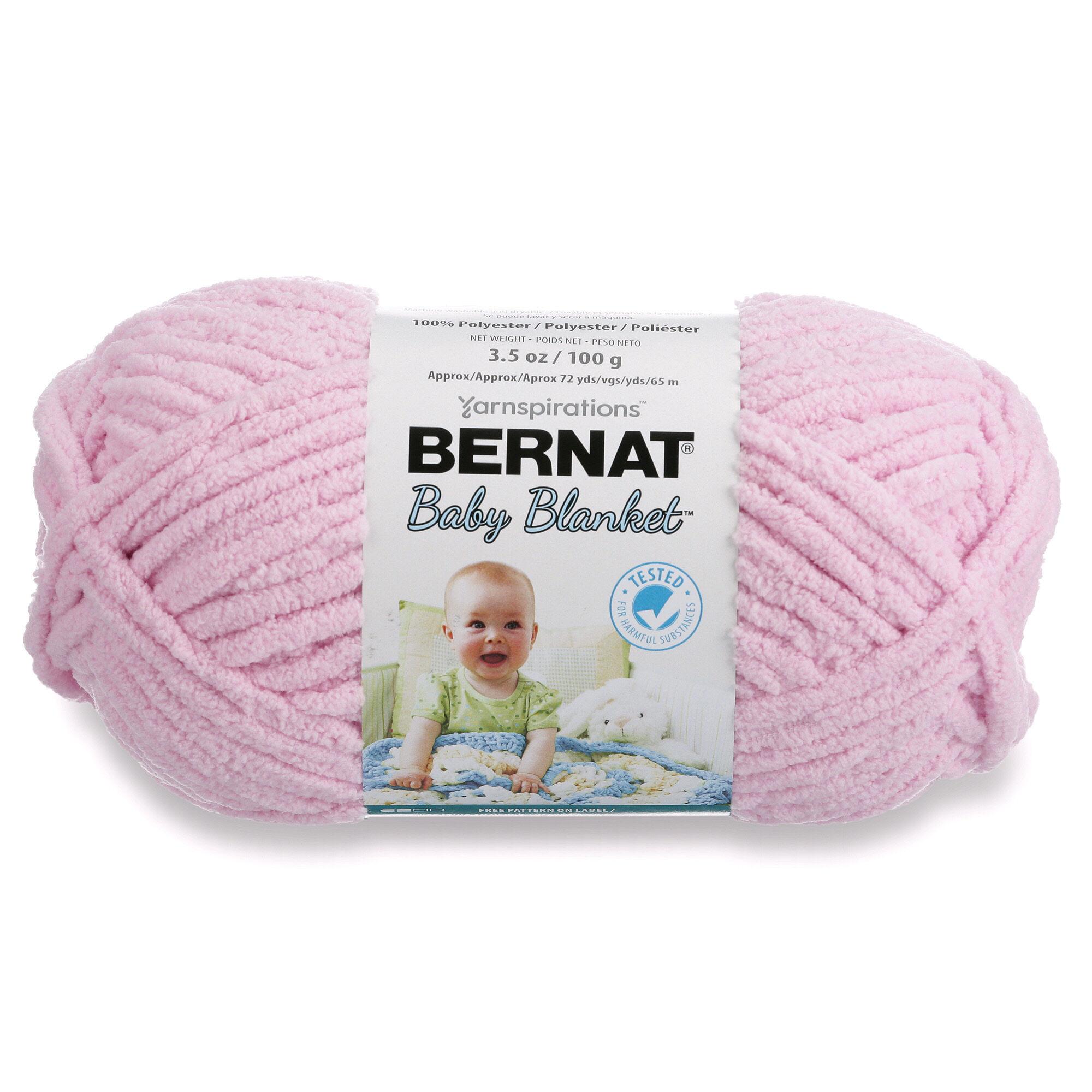 Bernat Baby Blanket Yarn 100g 3 5 Oz Baby Pink