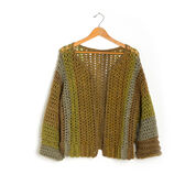 Go to Product: Caron Crochet Boxy Cardigan, XS/S in color