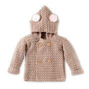 Bernat Mousie Crochet Hoodie