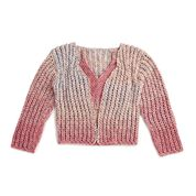Go to Product: Red Heart Eyelet Stitch Crochet Cardigan, XS/S in color