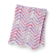 Go to Product: Bernat Mini Stripes Knit Baby Blanket in color