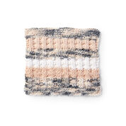 Lily Sugar'n Cream Scrubbing Stripes Knit Dishcloth