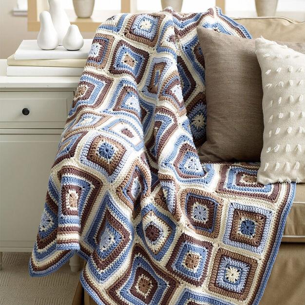 Bernat Deco Blocks Blanket