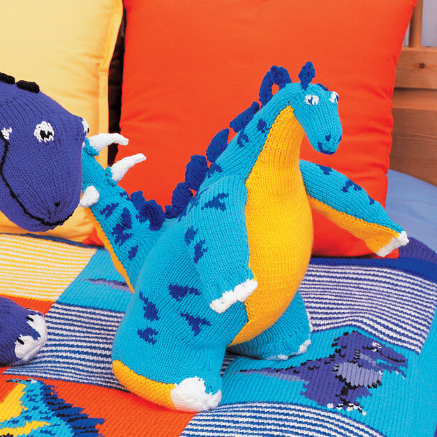 Patons Stegosaurus Toy