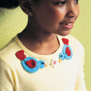 Go to Product: Red Heart Bird & Flower Appliques in color