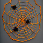 Red Heart Pin the Spider on the Web