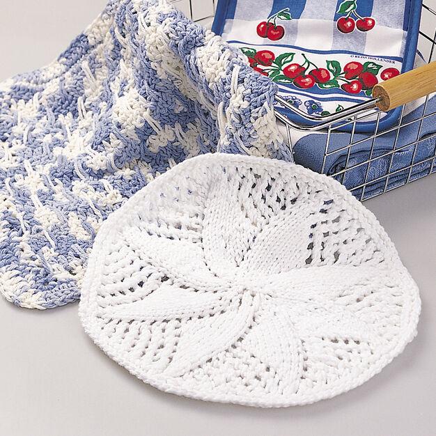 Lily Sugar'n Cream Lacy Dishcloth