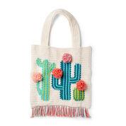 Lily Sugar'n Cream Crochet Cactus Tote