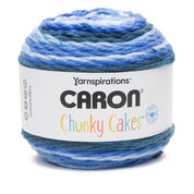 Caron Chunky Cakes Yarn, Blueberry Shortbread - Clearance Shades*