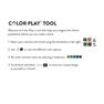 Caron x Pantone Color Block Crochet Cowl