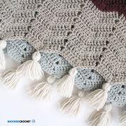 Patons Comfy Chevron Crochet Super Scarf
