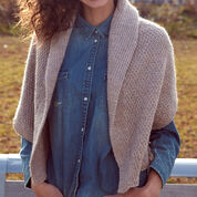 Go to Product: Patons Knit Envelope Cardigan, XS/S/M in color