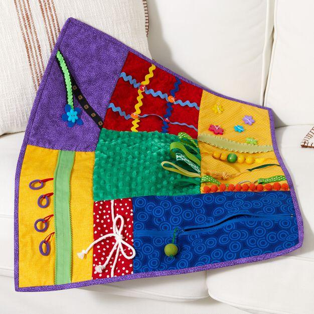 Coats & Clark Fidgety Fun Quilt in color
