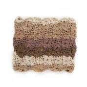 Caron Textured Crochet Cowl