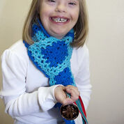 Go to Product: Red Heart Special Olympics Granny Square Scarf in color