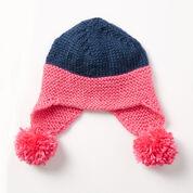 Caron Baby Earflap Hat
