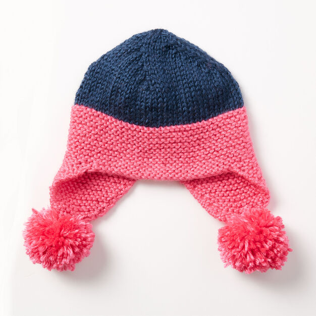 Caron Baby Earflap Hat Yarnspirations