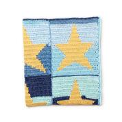 Bernat Starry Sky Crochet Blanket