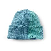 Go to Product: Red Heart Blue Waters Crochet Beanie in color