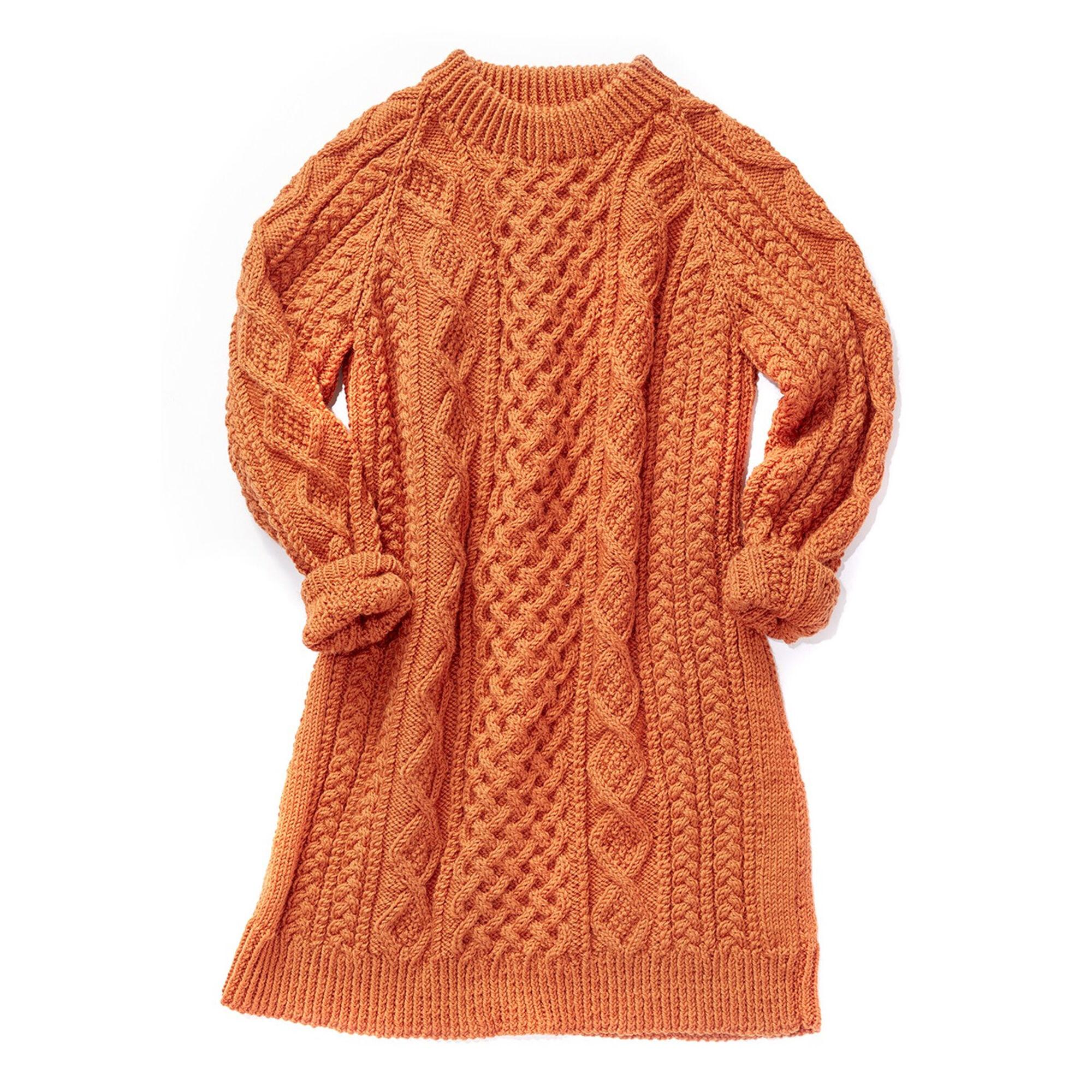 Patons Honeycomb Aran Dress M Yarnspirations