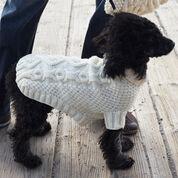 Patons Biscuits & Bones Dog Coat, XS