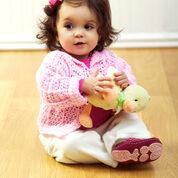 Red Heart Simple Sweet Baby Sweater, Preemie
