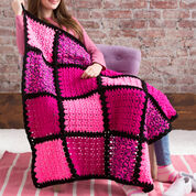 Go to Product: Red Heart I Love Pink Blanket in color