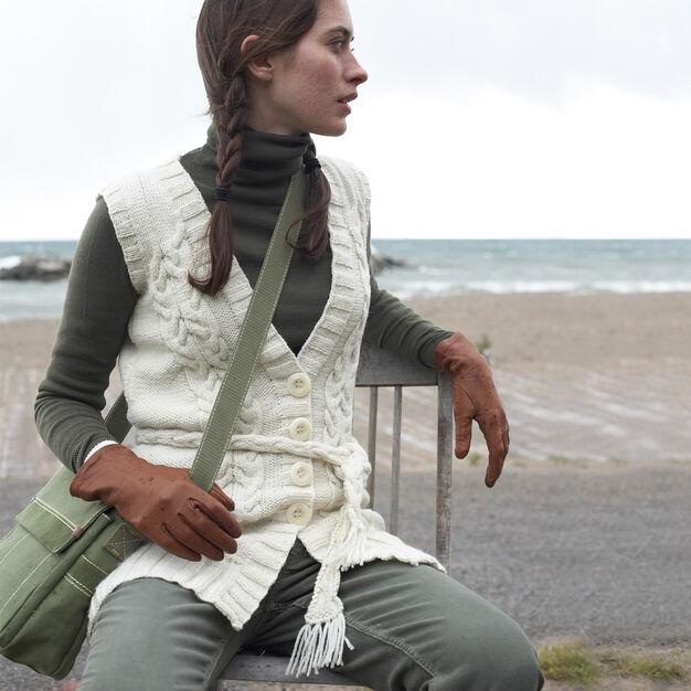 Patons Long Vest, XS/S