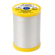 Go to Product: Coats & Clark Cotton All Purpose Sewing Thread 225 yds, Silver in color Silver