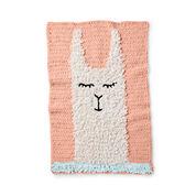 Go to Product: Bernat Loopy Llama Crochet Blanket in color