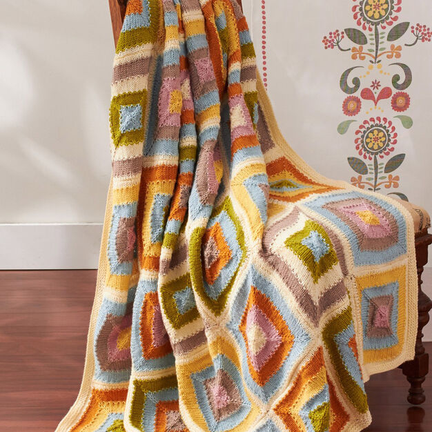 Patons Patchwork Blanket