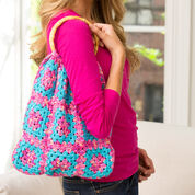 Go to Product: Red Heart Granny Square Purse in color