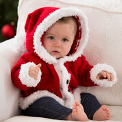 Red Heart Santa Baby Sweater, 3 mos