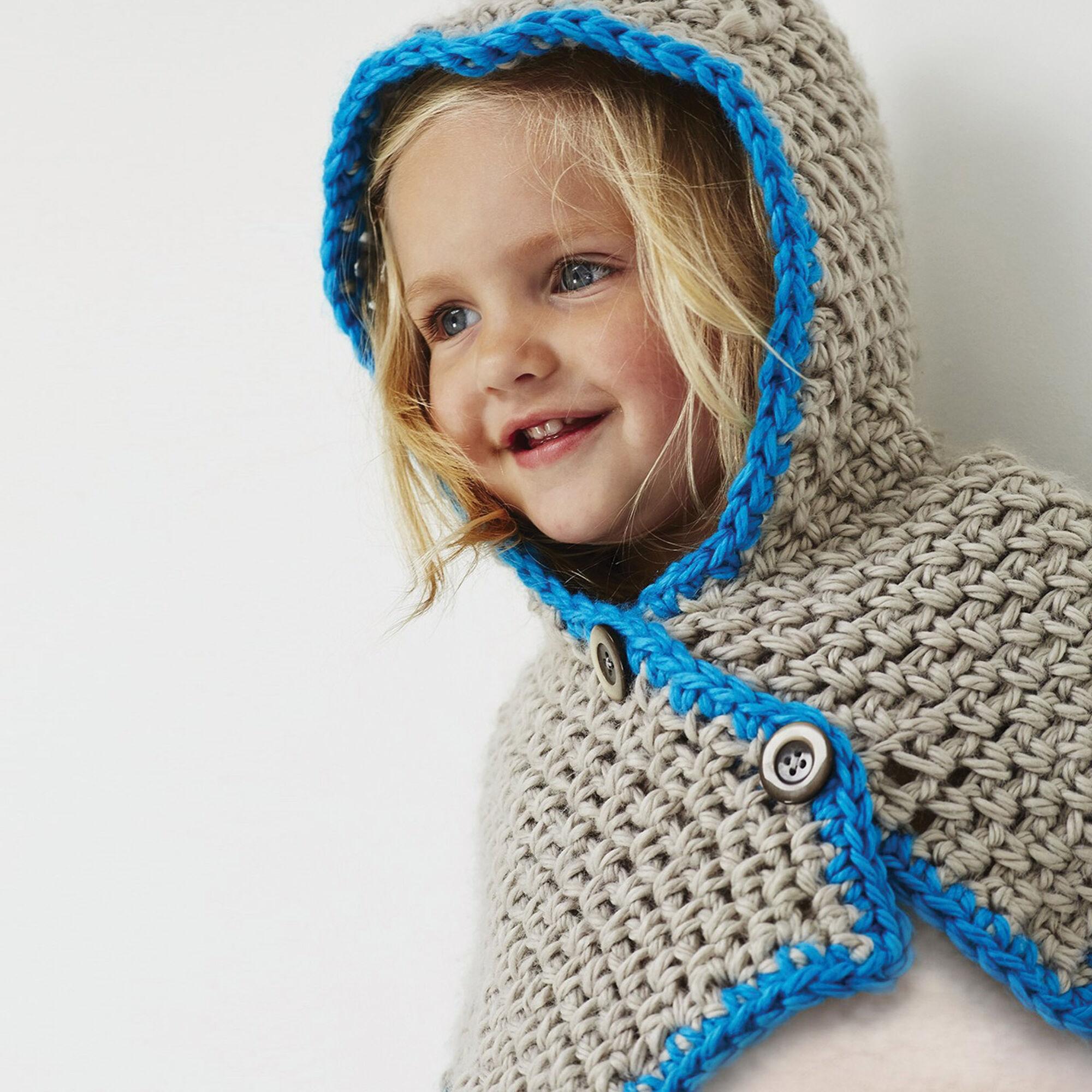 Bernat Hooded Cowl, 6-12 months | Yarnspirations