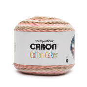 Go to Product: Caron Cotton Cakes Yarn (250g/8.8oz) in color Blush & Bloom