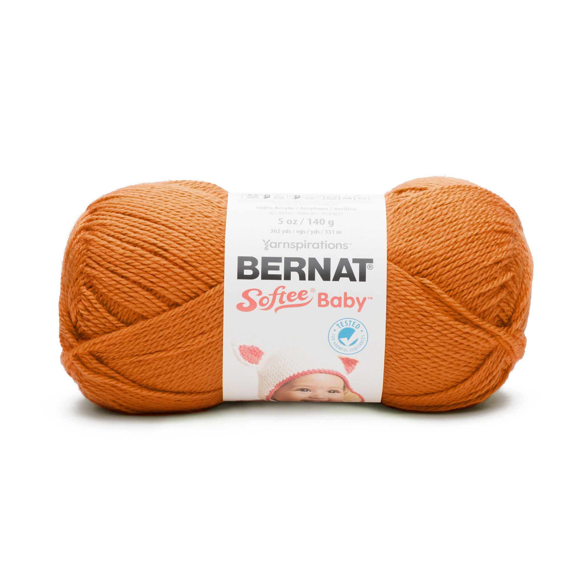 Bernat Softee Baby Yarn Pumpkin Yarnspirations