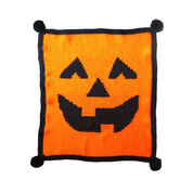 Go to Product: Red Heart Jack-O-Lantern Crochet Blanket in color