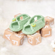 Go to Product: Red Heart Unisex Sandals for Baby in color