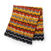 Patons Shaded Chevrons Blanket