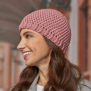 Red Heart Crochet Hats to Give, Tan