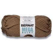 Bernat Mega Bulky Yarn (300g/10.5 oz), Toasty Gray