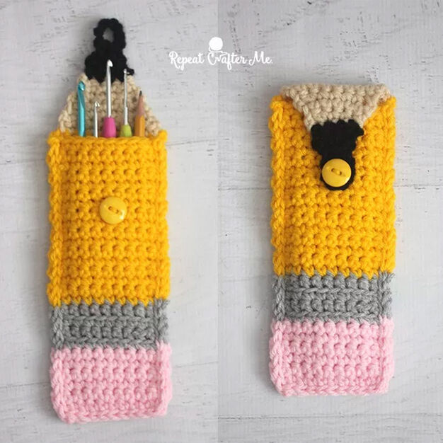Bernat Crochet Pencil Pouch