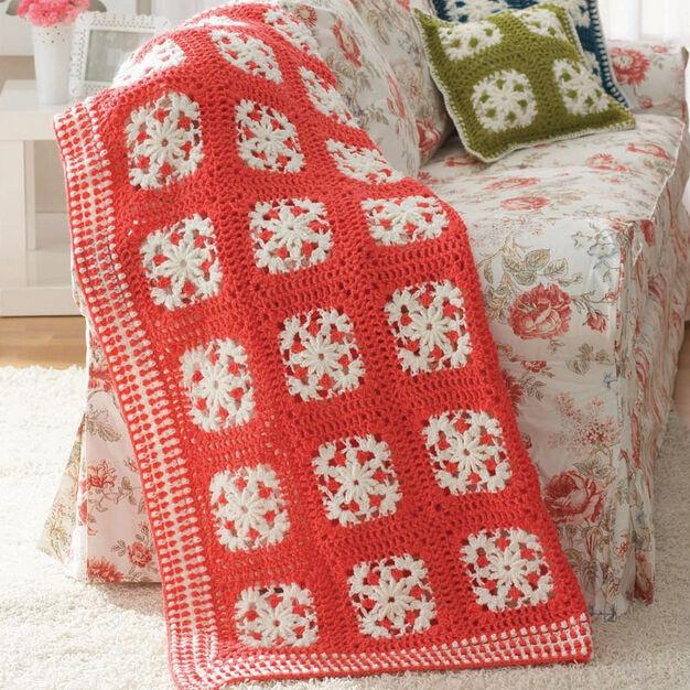 Patons Filigree Motifs Set, Blanket