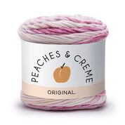 Go to Product: Peaches & Crème Stripey Yarn in color Quiet Dahlia