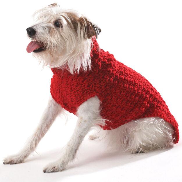 Bernat Crochet Dog Coat S Yarnspirations