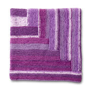 Caron Pickup Lines Knit Afghan