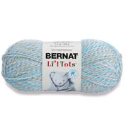 Go to Product: Bernat Li'l Tots Yarn, Cool Blue in color Cool Blue