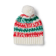 Red Heart Easy Crochet Gifting Hat, S